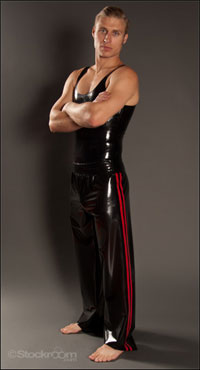 Click for more info on Men's Latex Track Pants