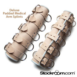 Deluxe Padded Arm Splints