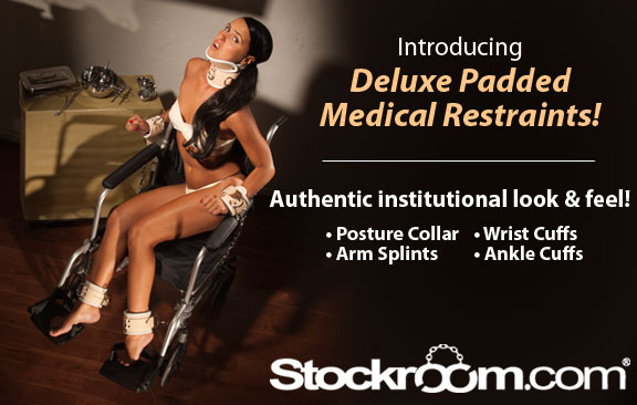 New Stockroom Deluxe Medical Restraints
